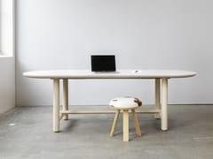 Tavolo da riunione ovaleBuzziTable - BUZZISPACE