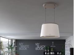 Cappa ad isola con illuminazione integrataCÈLINE - FABER