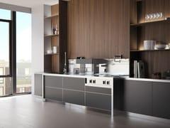 Cucina professionale in acciaio inoxC3000 | Cucina - MARRONE + MESUBIM
