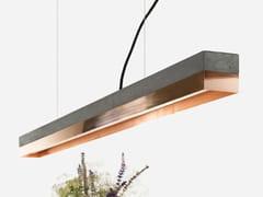 Lampada a sospensione a LED in rame [C1] DARK COPPER - C