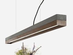 Lampada a sospensione a LED a luce diretta in acciaio Corten™ [C1] DARK CORTEN STEEL - C