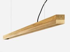 Lampada a sospensione a LED in rovere[C3o] OAK - GANTLIGHTS