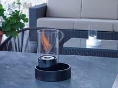 ACQUAFUOCO, CABARÈ Caminetto da tavolo in ceramica a bioetanolo
