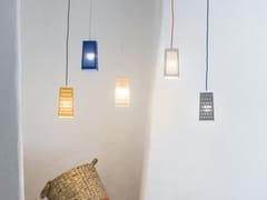 Lampada a sospensione a LED a luce diretta in Laprene®CACIO&PEPE S - IN-ES.ARTDESIGN