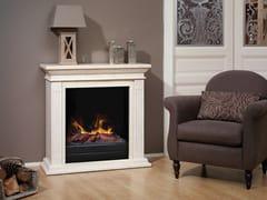 BRITISH FIRES, CADIZ MF Caminetto elettrico in pietra ricostruita in stile classico a parete senza canna fumaria