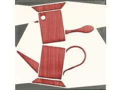 Giovanni De Maio, CAFFETTIERA ANIMATA Rivestimento fatto a mano in ceramica