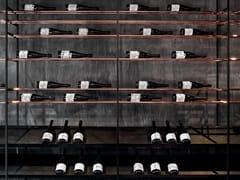 Portabottiglie in metalloCAGE-B | Portabottiglie - H-07
