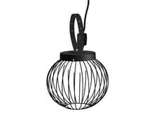 Lampada a sospensione per esterno a LED in alluminio pressofusoCAGE | Lampada a sospensione per esterno - SOVIL