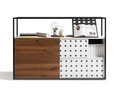 Mobile ufficio con ante scorrevoliCAGE - WIESNER-HAGER