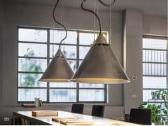 Lampada a sospensione a LED in acciaioCALÀ | Lampada a sospensione - ALDO BERNARDI