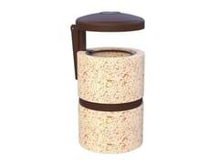 Lazzari, ENEA Portarifiuti in cemento per esterni