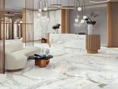 Pavimento/rivestimento in gres laminato effetto marmoALLURE - CALACATTA - COTTO D'ESTE