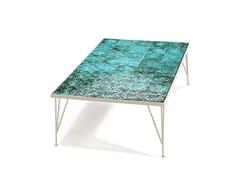 Tavolino rettangolare in ceramica CALDAS | Tavolino rettangolare - Caldas