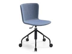 Sedia ufficio girevole in tessuto con ruoteCALLA DS TS - MIDJ