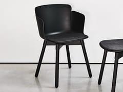 Sedia in polipropilene con braccioliCALLA PL C PP - MIDJ