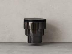 Wc sospeso in ceramicaCALLIPYGE ORIGINALS NERO METALLIZZATO - TRONE
