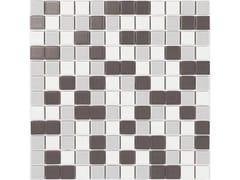 Mosaico in gres porcellanato per interni ed esterniCALVINO MIX MATT - LUCIDI - CE.SI. CERAMICA DI SIRONE
