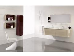 Mobile lavabo doppio con specchioCALYPSO 09 - BMT