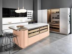 Cucina componibile in legno impiallacciatoCAMBIA - RATIONAL