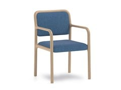 Sedia imbottita con braccioli CAMEO | HEALTH & CARE | Sedia con braccioli - CAMEO | Health & Care