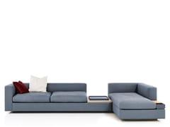 Divano modulare in tessuto con chaise longueCAMIN REVISITED - WITTMANN