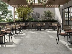 Pavimento/rivestimento in gres porcellanato effetto pietraCAMMINI - PANARIA CERAMICA