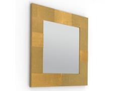 Specchio quadrato in MDF da pareteCAMPI | Specchio - ALBEDO S.R.L. UNIPERSONALE