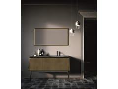 Mobile lavabo laccato con anteCAMPUS COMP. 1 - BIREX