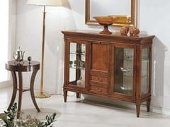 Tavolino rotondo in legno massello CANALETTO | Tavolino rotondo - Canaletto