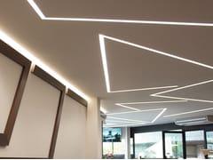 Profilo per illuminazione lineare in MDFCANALETTO DOPPIO - CANALETTO SMART