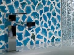Mosaico in pietra lavicaCANALETTO OPUS - ACQUARIO DUE CERAMICHE