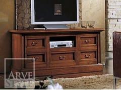 Mobile TV laccato in legno masselloCANALETTO | Mobile TV - ARVESTYLE