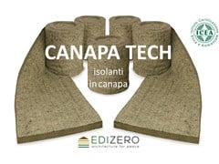 Materassino isolante in canapaCANAPA TECH - EDIZERO