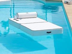 Lettino galleggiante singoloCANOPO FLOATING | Lettino galleggiante - DFN