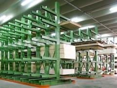Scaffsystem, CANTILEVER Scaffale tecnico in acciaio