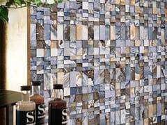 Mosaico in materiale riciclato e gres porcellanatoCANYON | Mosaico - LAND PORCELANICO