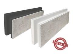 Wall System, Pannelli isolanti pronti all'uso Cappotto termico prerasato