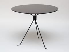 Tavolo da giardino rotondo in acciaioCAPRI BOND - COOLS