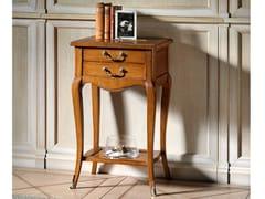 Tavolino alto in legno con portarivisteCAPRICCI   Tavolino alto - PRESTIGE