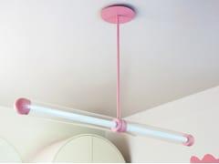 Lampada a sospensione a LED in alluminio verniciato a polvereCAPSULE KESKI - CAMERON DESIGN HOUSE