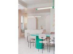 Lampada a sospensione a LED in alluminio verniciato a polvereCAPSULE SALDO - CAMERON DESIGN HOUSE