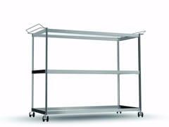 Carrello in alluminio e vetroCAR018 - SEC_car018 - ALIAS