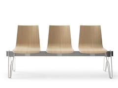 Seduta su barra in legnoCARPET WOOD | Seduta su barra - ARTE & D