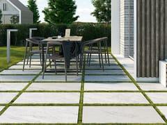 Pavimento per esterni in gres porcellanato effetto marmoCARRARA EFFECT - CERAMICHE COEM