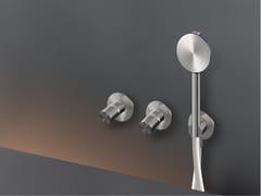 Gruppo 2 miscelatori a parete per vasca/doccia con doccettaCARTESIO 54H - CEADESIGN
