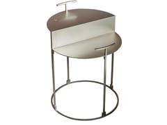 Tavolino alto in acciaioCARTESIO | Tavolino - CASAMILANO