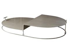 Tavolino basso in acciaioCARTESIO | Tavolino basso - CASAMILANO