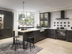 Cucina componibile in legno con maniglieCASA - RATIONAL