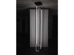 Lampada a sospensione a LED a luce indiretta in acciaio CASCADE MIRÉ - 4 - Mirè