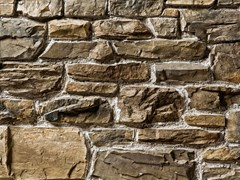 Rivestimento in pietra ricostruitaCASCATA P06 | Marrone Terra - GEOPIETRA